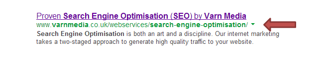 URL construction for SEO