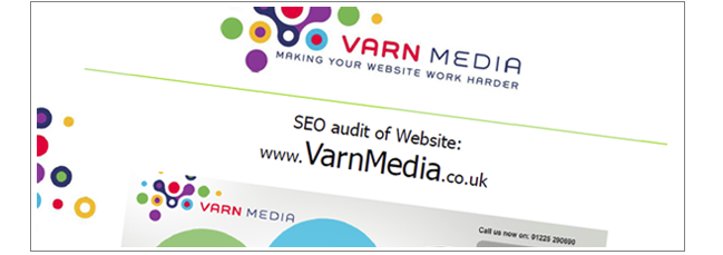 SEO auditing from Varn