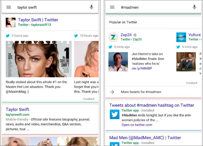 Google Twitter Partnership Screenshot