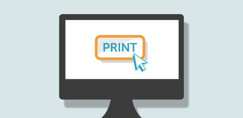 Print Web Pages Image