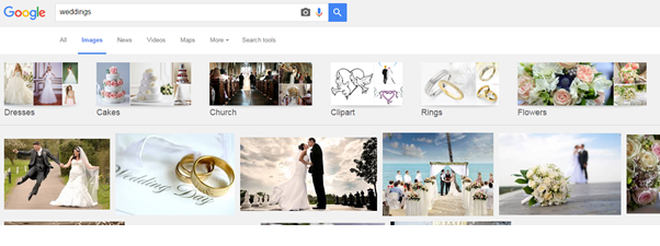 image search results page google