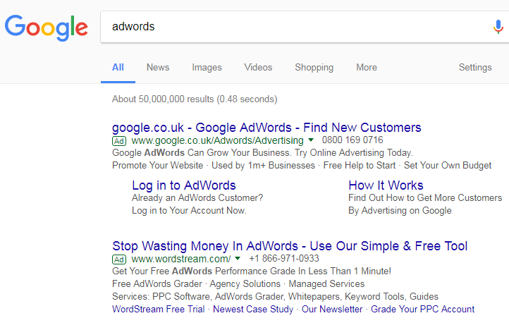 Google AdWords white label