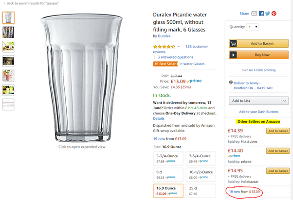 Amazon product page SEO