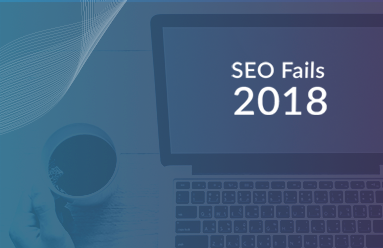 SEO fails of 2018
