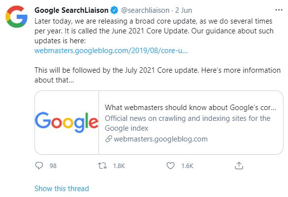 Google Update Image